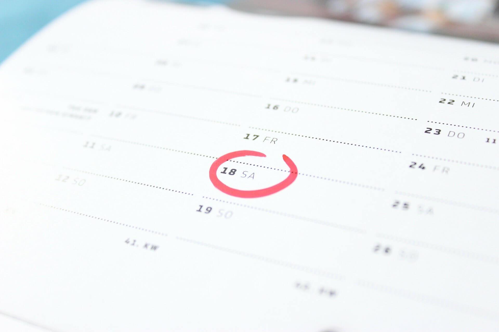 Kalendermetoden → Lär dig allt du behöver här.